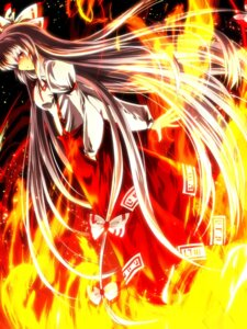 Rating: Safe Score: 16 Tags: fujiwara_no_mokou nekominase touhou User: Injection