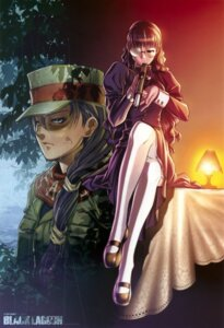 Rating: Safe Score: 42 Tags: black_lagoon gun hiroe_rei megane roberta stockings thighhighs uniform User: Radioactive