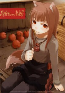 Rating: Safe Score: 25 Tags: animal_ears ayakura_juu holo spice_and_wolf tail User: MDGeist