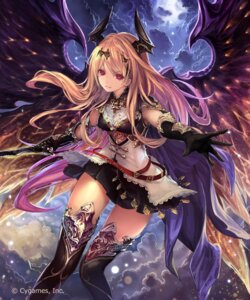 Rating: Safe Score: 170 Tags: armor dark_angel_olivia dress horns jpeg_artifacts shingeki_no_bahamut sword tachikawa_mushimaro thighhighs wings User: WtfCakes