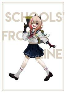 Rating: Safe Score: 10 Tags: bsue girls_frontline m4_sopmod_ii_(girls_frontline) seifuku User: Dreista
