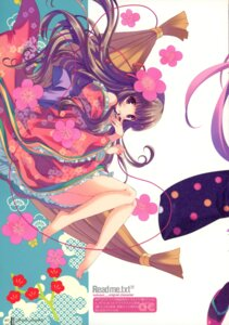 Rating: Safe Score: 22 Tags: kimono ohara_tometa paper_texture qp:flapper User: admin2