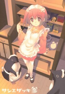 Rating: Questionable Score: 16 Tags: maid penguin tagme thighhighs wa_maid User: Radioactive