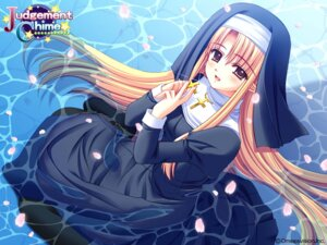 Rating: Safe Score: 11 Tags: judgement_chime nishimata_aoi nun varuna_riel wallpaper User: Davison