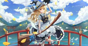 Rating: Safe Score: 19 Tags: kerno kirisame_marisa skirt_lift touhou witch User: Mr_GT