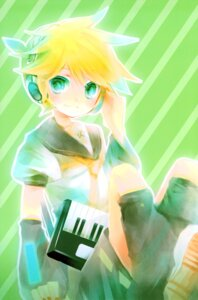 Rating: Safe Score: 6 Tags: kagamine_len male shimeko vocaloid User: Radioactive