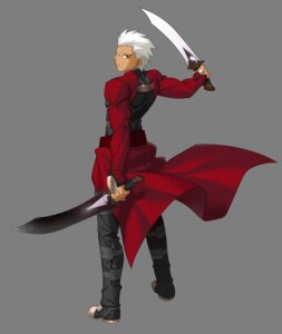 Rating: Safe Score: 4 Tags: archer fate/stay_night fate/unlimited_codes male sword transparent_png weapon User: Yokaiou