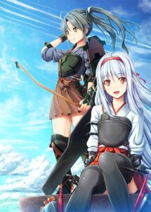 Rating: Safe Score: 26 Tags: akashio kantai_collection shoukaku_(kancolle) zuikaku_(kancolle) User: 椎名深夏