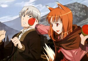 Rating: Safe Score: 9 Tags: animal_ears craft_lawrence holo spice_and_wolf tail User: Onpu
