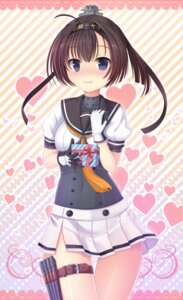 Rating: Safe Score: 38 Tags: akizuki_(kancolle) kantai_collection seifuku umitonakai valentine User: Mr_GT