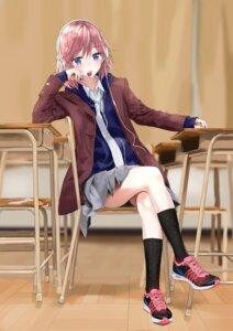 Rating: Safe Score: 24 Tags: citrus_(manga) fujisaki_ribbon headphones mizusawa_matsuri seifuku sweater User: Spidey