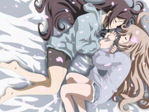 Rating: Safe Score: 22 Tags: bike_shorts candy_boy sakurai_kanade sakurai_yukino wallpaper yuri User: van