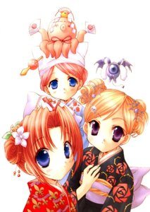 Rating: Safe Score: 5 Tags: chamomile_jasmine maris_mischa melty_bagel nanase_aoi puchimon yukata User: petopeto