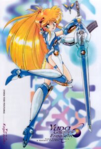 Rating: Safe Score: 8 Tags: akitaka_mika galaxy_fraulein_yuna kagurazaka_yuna mecha_musume User: Radioactive