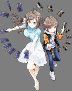 Rating: Safe Score: 18 Tags: hand_shakers heels hojo_masaru hojo_riri tagme transparent_png User: SubaruSumeragi
