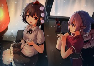 Rating: Safe Score: 41 Tags: mystia_lorelei pointy_ears pyonsuke0141 shameimaru_aya touhou wings User: Mr_GT