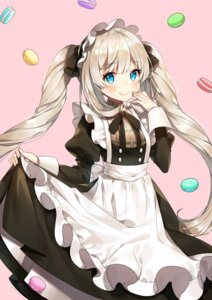 Rating: Safe Score: 53 Tags: ayami_(annahibi) fate/grand_order maid marie_antoinette_(fate/grand_order) signed skirt_lift User: Mr_GT