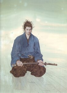 Rating: Safe Score: 6 Tags: inoue_takehiko male miyamoto_musashi sword vagabond User: Umbigo