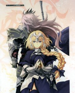 Rating: Safe Score: 25 Tags: armor dress fate/apocrypha fate/stay_night jeanne_d'arc jeanne_d'arc_(fate/apocrypha) konoe_ototsugu ruler_(fate/apocrypha) siegfried sword thighhighs type-moon User: 逍遥游
