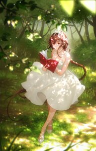 Rating: Safe Score: 23 Tags: dress skirt_lift summer_dress tagme tidsean User: BattlequeenYume