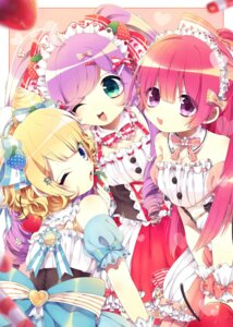 Rating: Safe Score: 12 Tags: manaka_lala minami_mirei pripara tmpr0778 toudou_shion waitress User: animeprincess