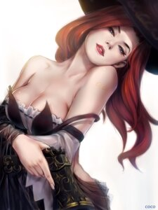 Rating: Safe Score: 86 Tags: cleavage destincelly gun league_of_legends miss_fortune see_through tattoo User: Aneroph