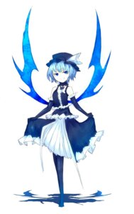 Rating: Safe Score: 15 Tags: dress pantyhose remilia_scarlet shirogane_usagi touhou wings User: charunetra