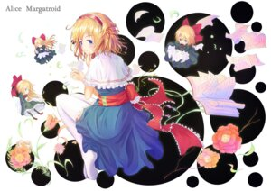 Rating: Safe Score: 9 Tags: alice_margatroid hirokoza thighhighs touhou User: fairyren