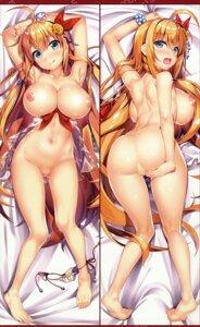 Rating: Questionable Score: 73 Tags: ass breasts dakimakura essentia lingerie naked nipples no_bra pantsu panty_pull pecorine princess_connect see_through string_panties yan-yam User: DDD
