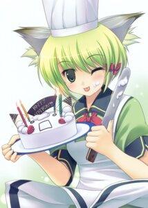 Rating: Safe Score: 8 Tags: animal_ears arikawa_satoru greenwood midori nekomimi User: midzki