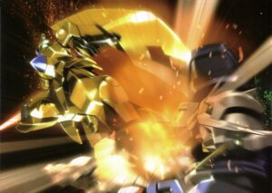 Rating: Safe Score: 5 Tags: gundam gundam_00 gundam_exia mecha User: Radioactive