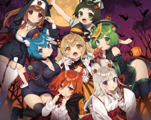 Rating: Safe Score: 16 Tags: animal_ears animare chinadress cleavage halloween miko nekomimi nopan nun nurse open_shirt police_uniform tagme thighhighs witch User: Mr_GT