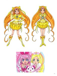 Rating: Questionable Score: 6 Tags: dress heels houjou_hibiki hummy minamino_kanade pretty_cure shirabe_ako suite_pretty_cure takahashi_akira User: drop