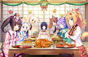Rating: Safe Score: 50 Tags: animal_ears azuki chocola cinnamon_(nekopara) cleavage coconut game_cg heterochromia maple_(nekopara) minazuki_shigure neko_works nekomimi nekopara pantyhose sayori seifuku tail vanilla yukata User: Radioactive