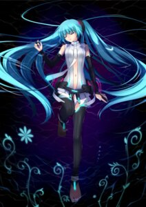 Rating: Safe Score: 27 Tags: hatsune_miku miku_append nana_mikoto thighhighs vocaloid vocaloid_append User: charunetra