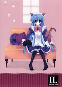 Rating: Safe Score: 24 Tags: animal_ears indico_lite maid mitha neko nekomimi pantyhose tail User: WtfCakes