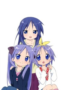 Rating: Safe Score: 18 Tags: hiiragi_kagami hiiragi_miki hiiragi_tsukasa horiguchi_yukiko lucky_star User: Elow69