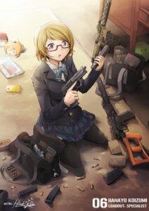 Rating: Safe Score: 31 Tags: gun hiroki_ree hoshizora_rin koizumi_hanayo love_live! megane nishikino_maki pantyhose seifuku User: Radioactive