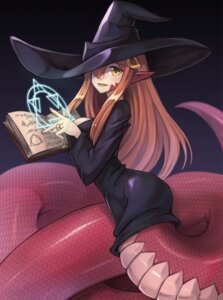 Rating: Safe Score: 29 Tags: dress miia_(monster_musume) monster_girl monster_musume_no_iru_nichijou pointy_ears sookmo tail witch User: Mr_GT