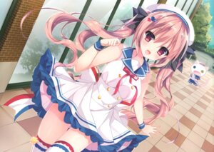 Rating: Safe Score: 86 Tags: dress heterochromia neko nijuugokuhi-ya shiwasu_horio thighhighs User: fireattack