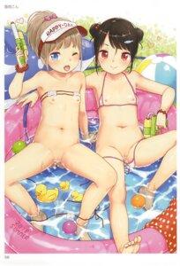 Rating: Explicit Score: 66 Tags: bikini censored gun loli nipples panty_pull pussy swimsuits toranoana wet yukiu_con User: abcdefh