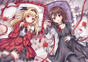 Rating: Questionable Score: 61 Tags: dress kure~pu pantyhose thighhighs valentine wings User: sym455