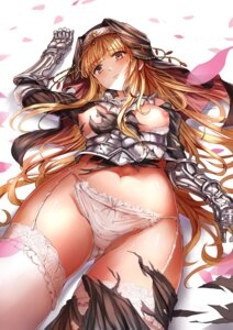 Rating: Questionable Score: 55 Tags: armor bra breasts brown_dust nipples pantsu see_through stockings tagme thighhighs torn_clothes User: BattlequeenYume