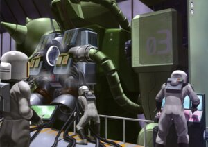 Rating: Safe Score: 1 Tags: gundam mecha ms-06_zaku_ii User: Radioactive