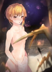 Rating: Questionable Score: 59 Tags: censored hplay miyamoto_frederica naked onsen the_idolm@ster the_idolm@ster_cinderella_girls towel wet User: mash