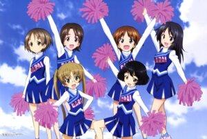 Rating: Safe Score: 24 Tags: cheerleader girls_und_panzer itou_takeshi maruyama_saki megane oono_aya sakaguchi_karina sawa_azusa utsugi_yuuki yamagou_ayumi User: drop