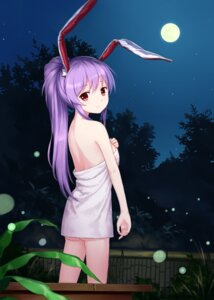 Rating: Questionable Score: 69 Tags: animal_ears bunny_ears naked reisen_udongein_inaba touhou towel tucana User: Chris086