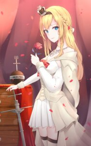 Rating: Safe Score: 30 Tags: cleavage jenson_tw kantai_collection stockings thighhighs warspite_(kancolle) User: Mr_GT