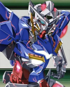 Rating: Safe Score: 11 Tags: gundam gundam_00 gundam_exia mecha User: Aurelia