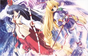 Rating: Safe Score: 8 Tags: kagura_(prism_ark) ohno_tetsuya priecia prism_ark User: admin2